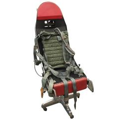 Ejection Seat Office Chair Outdoor Lounge Covers Polished F 16 Turned For Sale