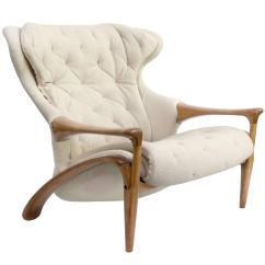 Modern Wing Chair Black Office Amazing Scandinavian Sculpted Framed At