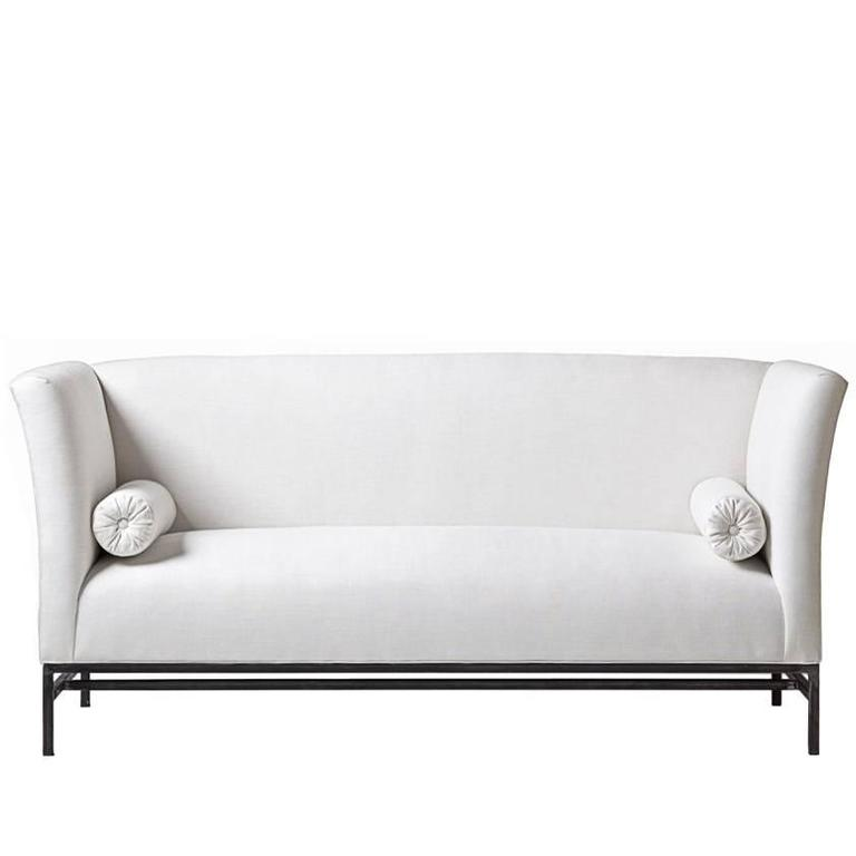 belgian linen sofa futon style sleeper tara shaw maison shelter in for sale at 1stdibs