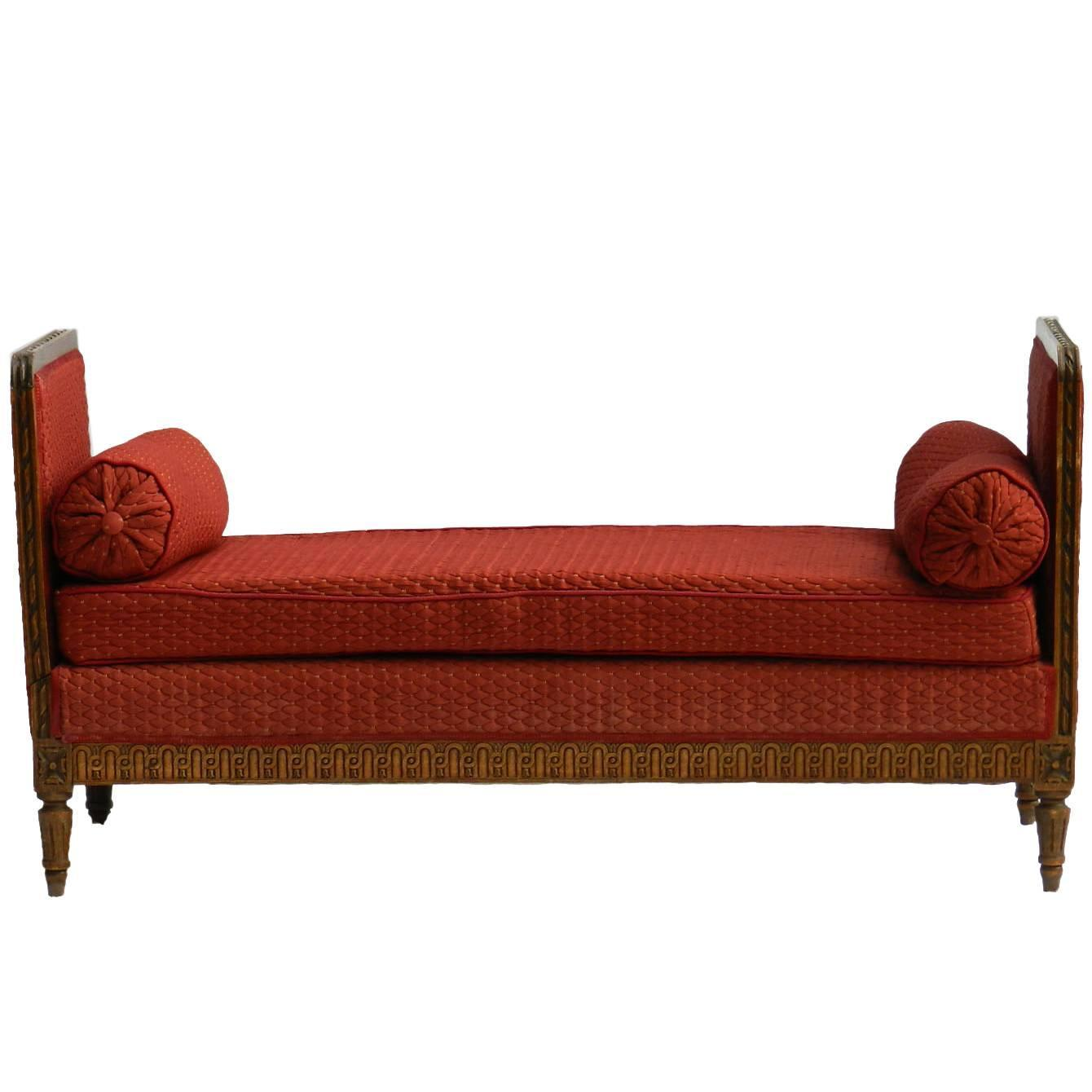 oak furniture sofa beds modern online shopping india french daybed or single chaise longue in circa