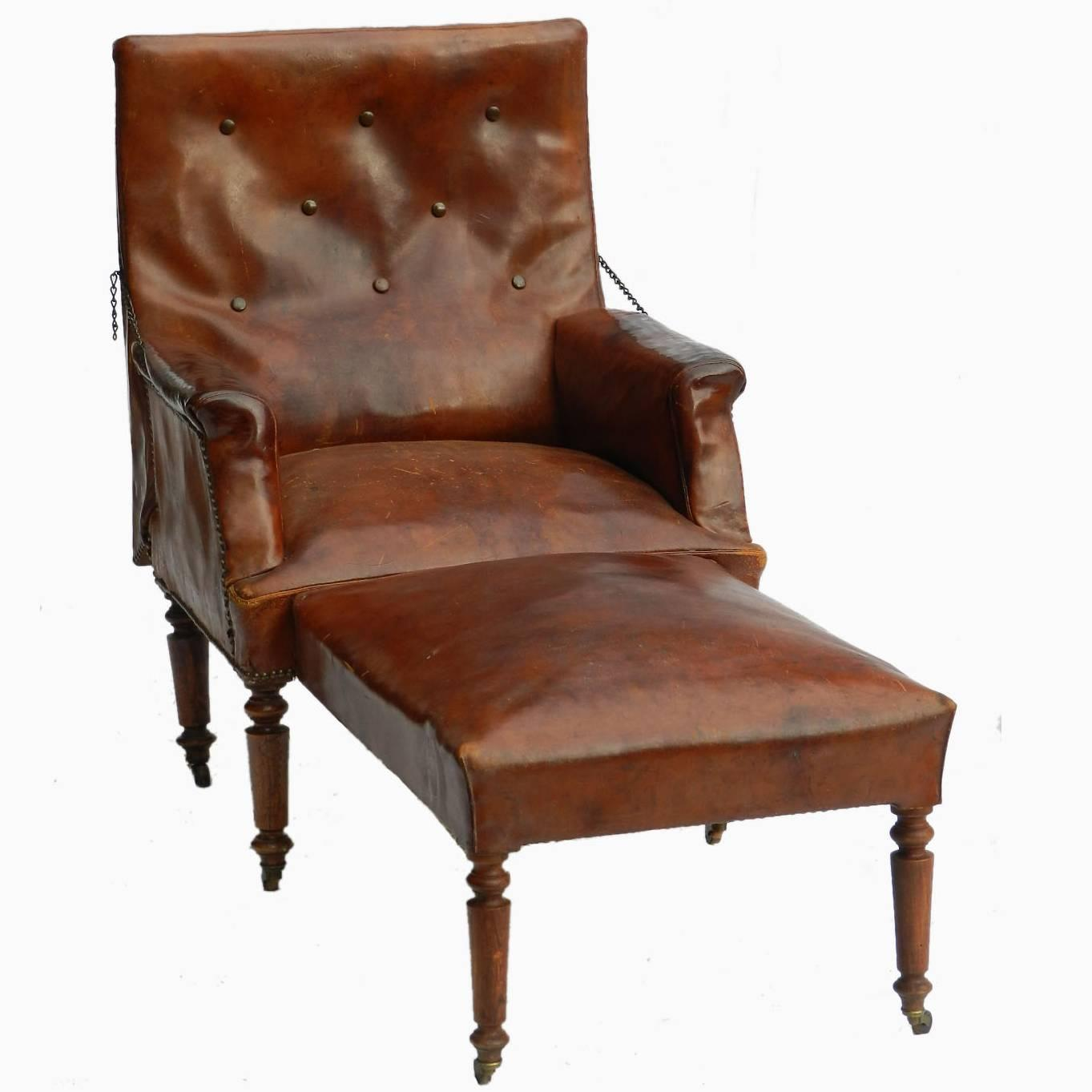 French Club Chair French Leather Club Chair Reclining Armchair Recliner