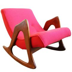 Adrian Pearsall Rocking Chair Leather Office Chairs Canada Style Sculptural Walnut Rocker Lounge