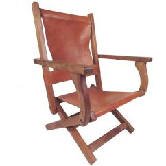 Folding Chair Leather Reclining Dining Contemporary Modern Armchair For Sale At