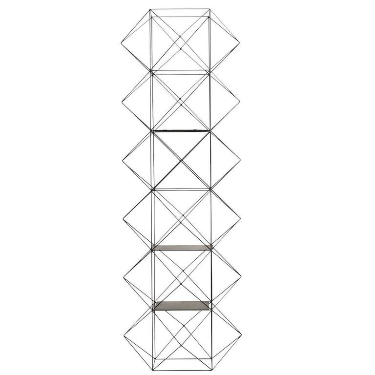 Iron Bookcase For Sale at 1stdibs