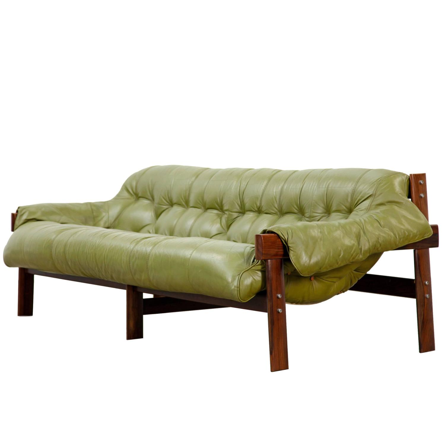 percival lafer sofa free pick up mid century modern brazilian