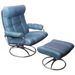 Stressless Chair Sale Wedding Chairs Chiavari Vintage Leather Stress Less Recliner By Ekornes At 1stdibs For