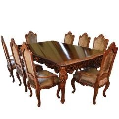 Dinning Room Table And Chairs Bliss Zero Gravity Chair Antique Italian Dining Set With Buffet Consoles Credenza For