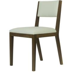 Leather Dining Chairs Modern Padded Sling Swivel Patio Scandinavian Walnut And Cream Chair For Sale