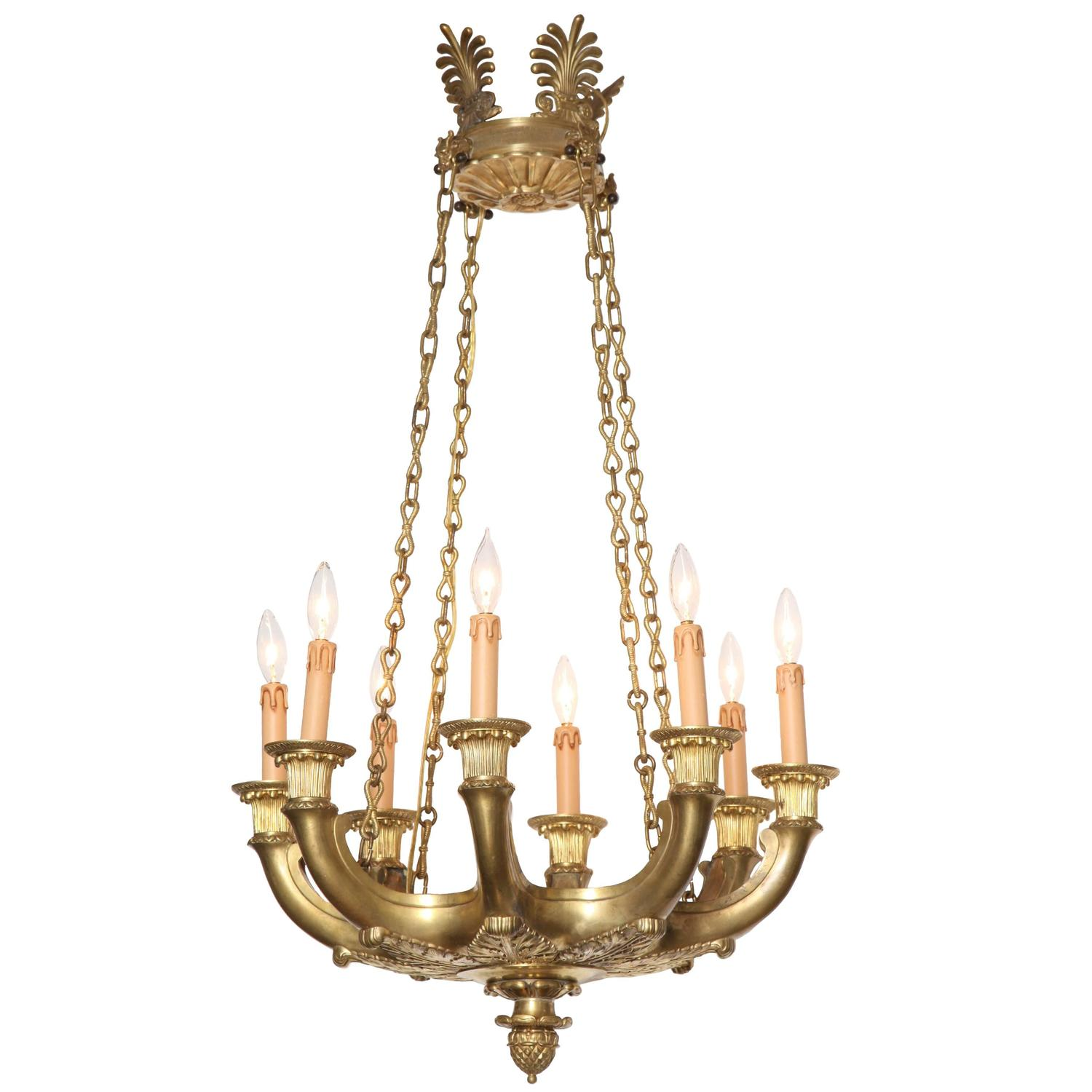 Empire Style Chandelier at 1stdibs