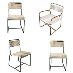 Lounge Chair Patio Raynor Ergohuman Bronze Walter Lamb Chaise Rocking Outdoor Brown Jordan Chairs Set Of 3