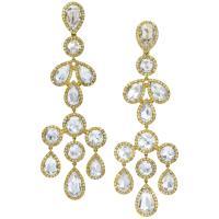 Rose Cut Diamond Earrings - Image Of Bear and Rose ...