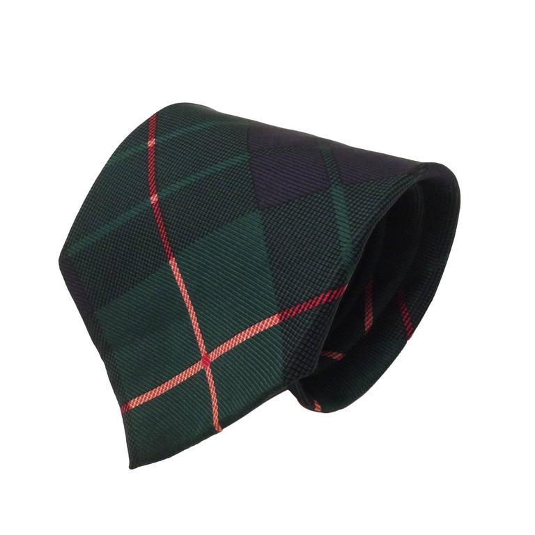 Tommy Hilfiger Plaid Silk Necktie