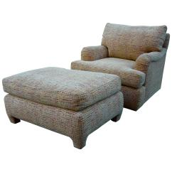 Swivel Club Chair With Ottoman Very Cheap Covers And Matching Designed By Gina B At 1stdibs