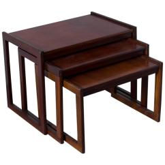 Stickley Leopold Chair For Sale Christmas Covers Ireland Punch Design Inc Teak Nesting Tables At 1stdibs