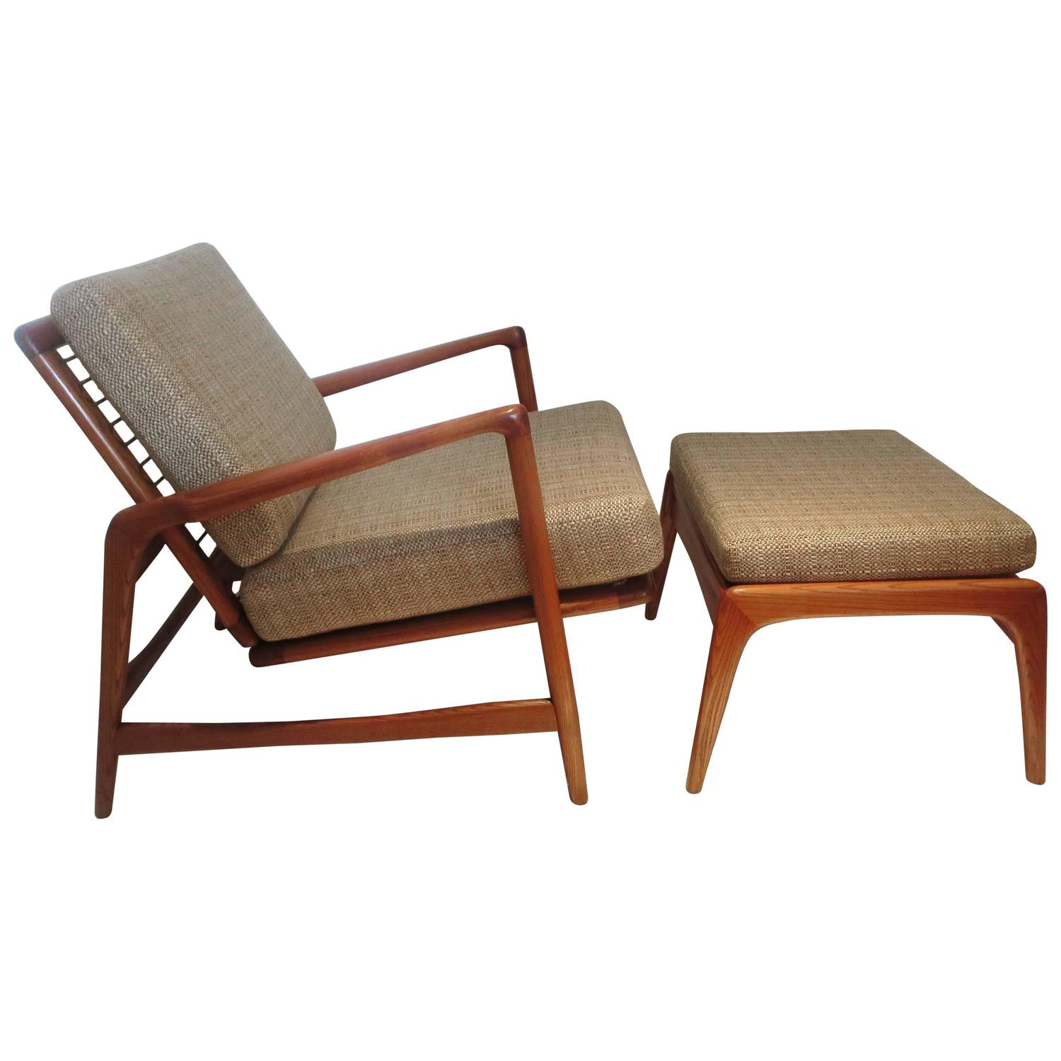 Modern Lounge Chairs Danish Modern Reclining Lounge Chair Multipositions And