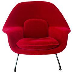 Knoll Saarinen Chair Blue Bistro Chairs Eero Womb At 1stdibs