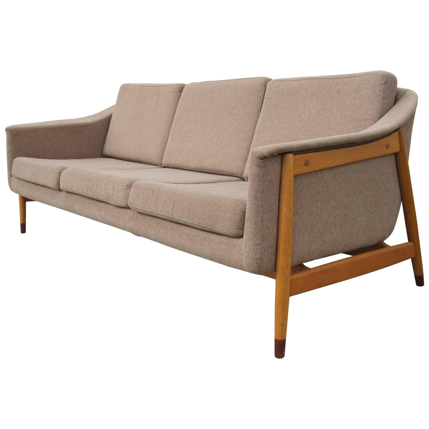 dux sofa by folke ohlsson toddler chair leather three seat swedish for at 1stdibs