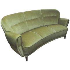 A Sofa In The Forties Unfurl Mohair Model Baker Thesofa