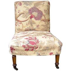 Bonnie Cream Slipper Chair Dining Room Covers For Sale Ireland English At 1stdibs