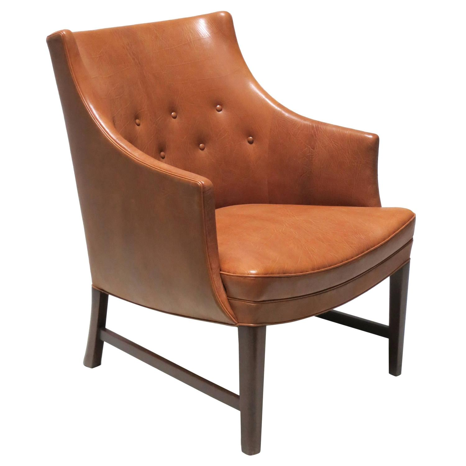 Easy Chairs Compact Easy Chair In Nigerian Goatskin By Frits