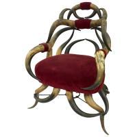 Victorian Horn Chair, circa 1865 at 1stdibs