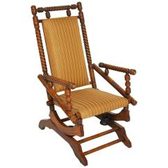 Rocking Chair Antique Styles Kmart High Hunzinger Style Platform Rocker For Sale At 1stdibs