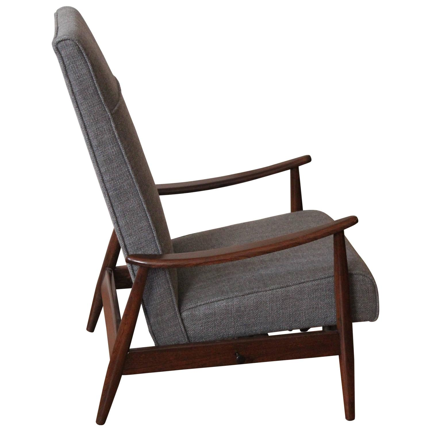 correct posture lounge chair covers with sashes for rent milo baughman 5 position recliner at 1stdibs