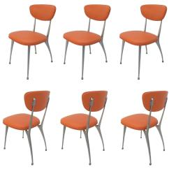 Shelby Williams Chairs Wicker Set Of Six Quotgazelle Quot Dining By For