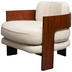 Milo Baughman Chair Coleman Camp Low Club For Sale At 1stdibs