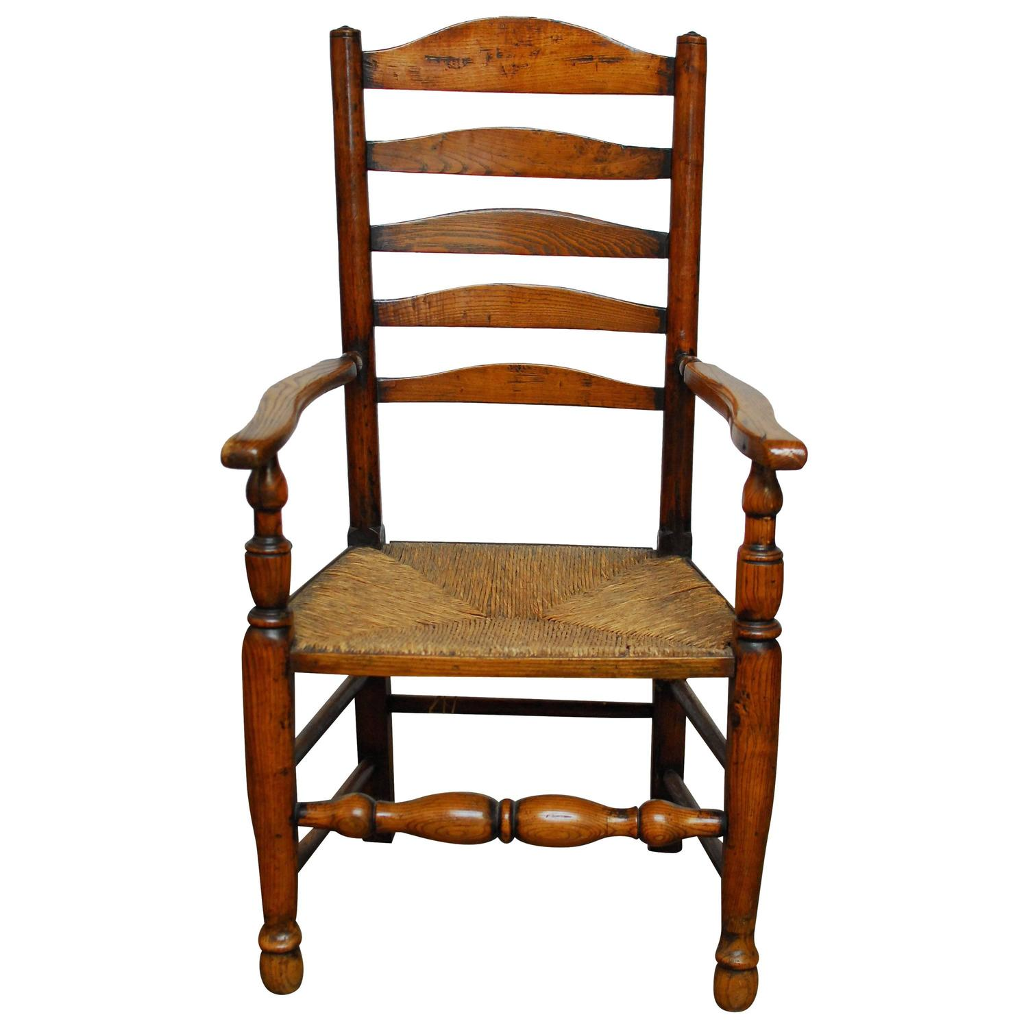 ladder back chair steel ikea 19th century english for sale at 1stdibs