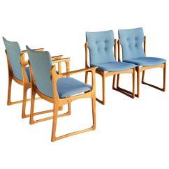 Danish Modern Dining Chair Woman Sitting In Teak Chairs At 1stdibs