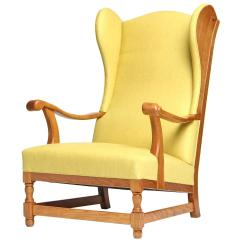 Wingback Chair For Sale Hanging Serena And Lily Scandanivian At 1stdibs
