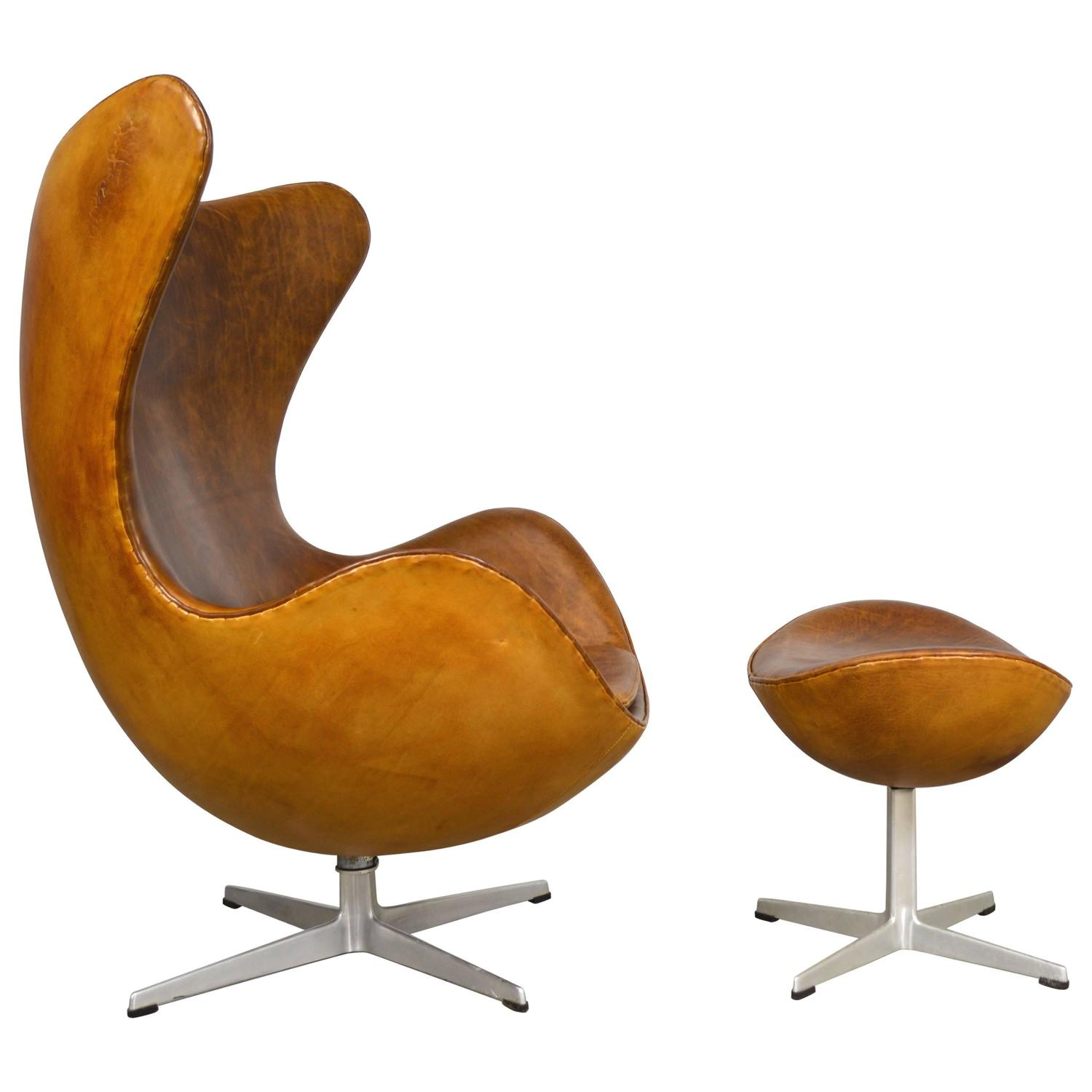 Affordable Egg Chair Arne Jacobsen Egg Chair And Ottoman At 1stdibs