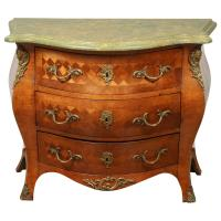 Swedish Rococo Bombay Chest For Sale at 1stdibs