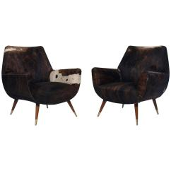 Cowhide Chairs Modern French Country Arm Chair Italian Mid Century Club Covered In
