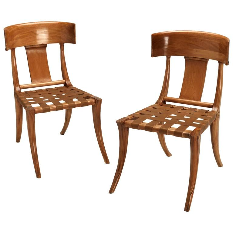 Klismos Chairs For Sale at 1stdibs