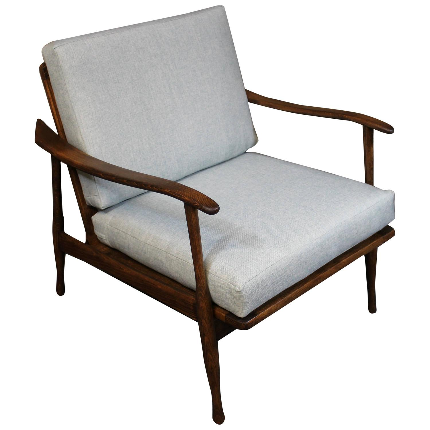 Mid Century Lounge Chair Mid Century Modern Lounge Chair At 1stdibs