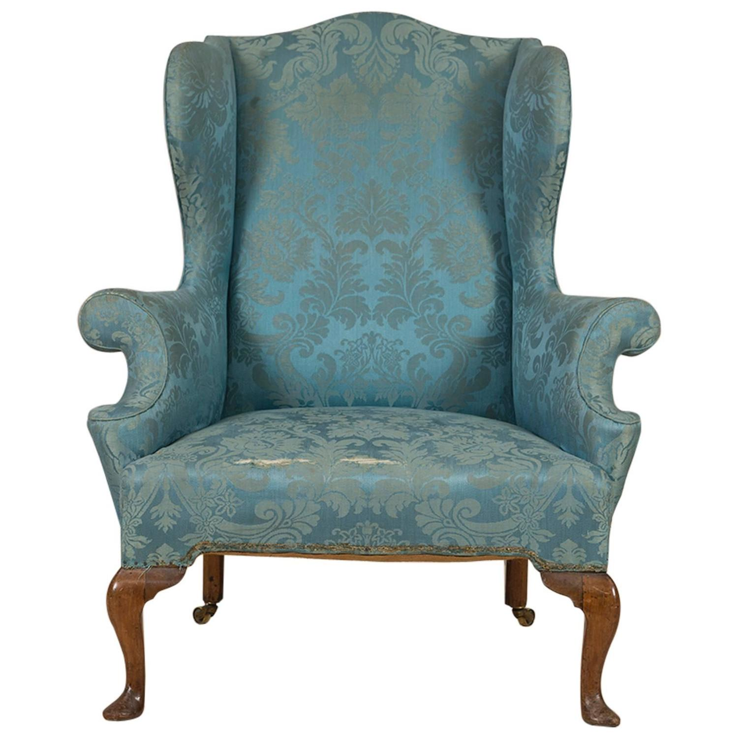 Queen Anne Wingback Chair Queen Anne Walnut Wing Chair Circa 1710 For Sale At 1stdibs