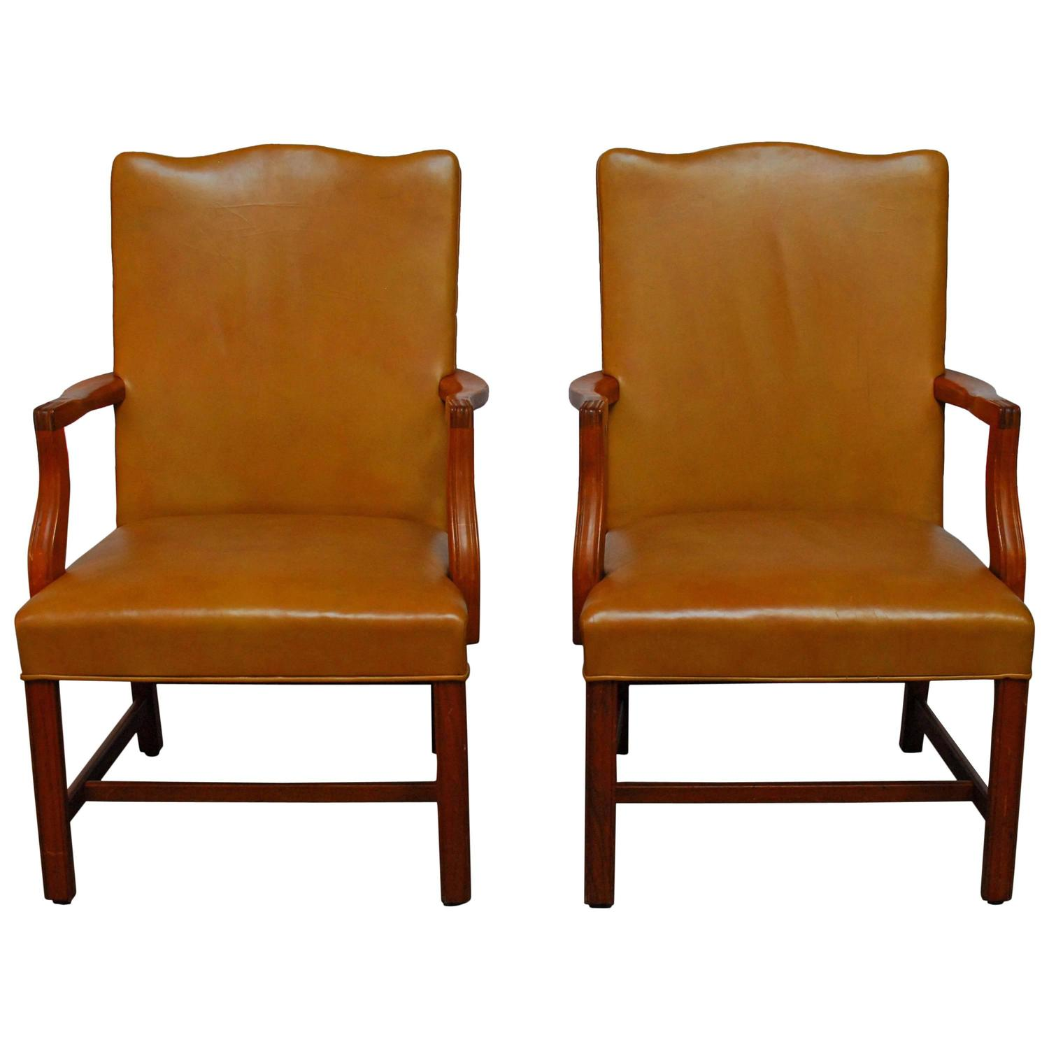 z shaped high chair ergonomic montreal pair of chippendale library chairs for sale at 1stdibs