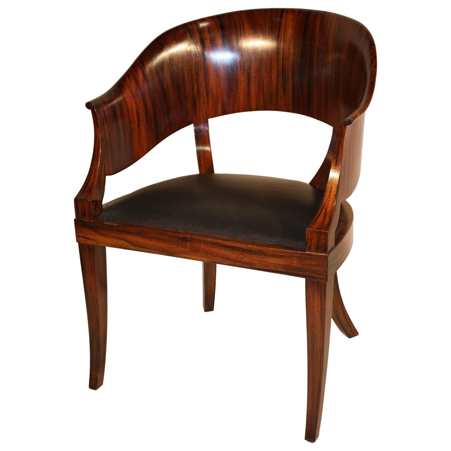 Artistic Chairs French Art Deco Desk Chair At 1stdibs