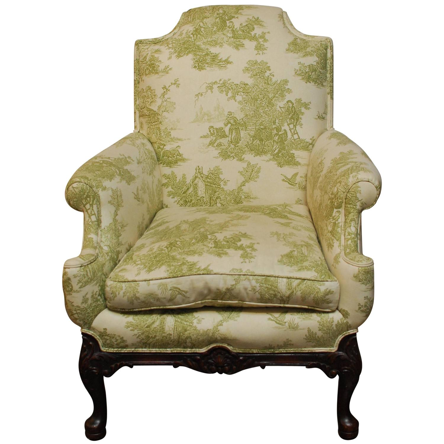 Toile Chair Louis Xvi Toile De Jouy Bergere For Sale At 1stdibs