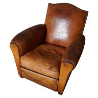 Lovely Cognac Leather Chair - rtty1.com | rtty1.com