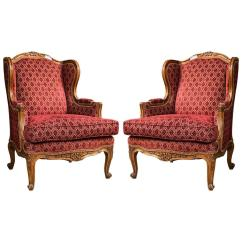 Bergere Chairs For Sale The Revolving Chair Design Pair Of Louis Xv Style French At