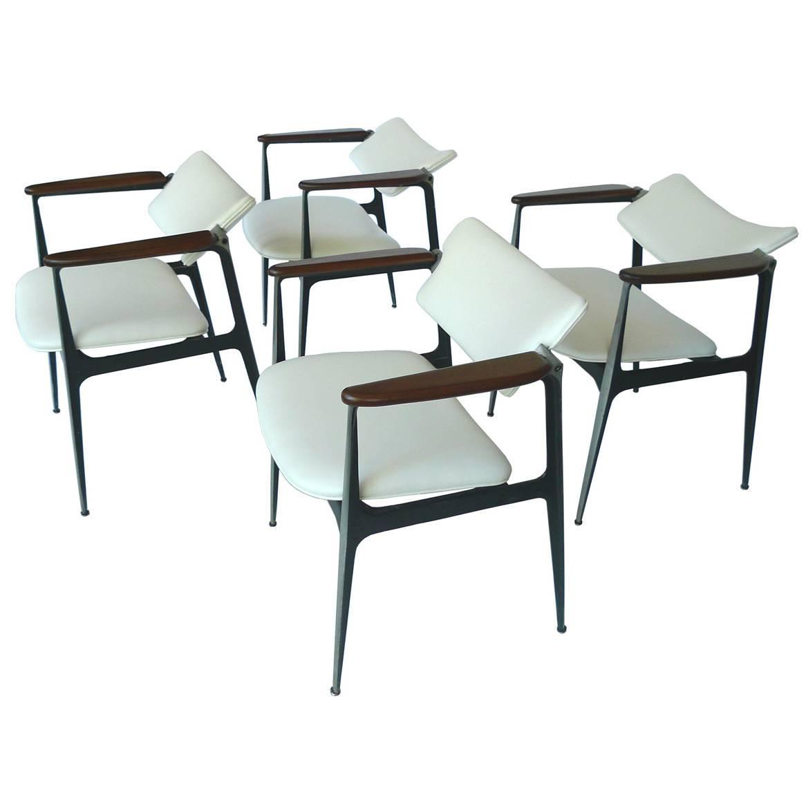 shelby williams chairs movie for sale gazelle set of four at 1stdibs