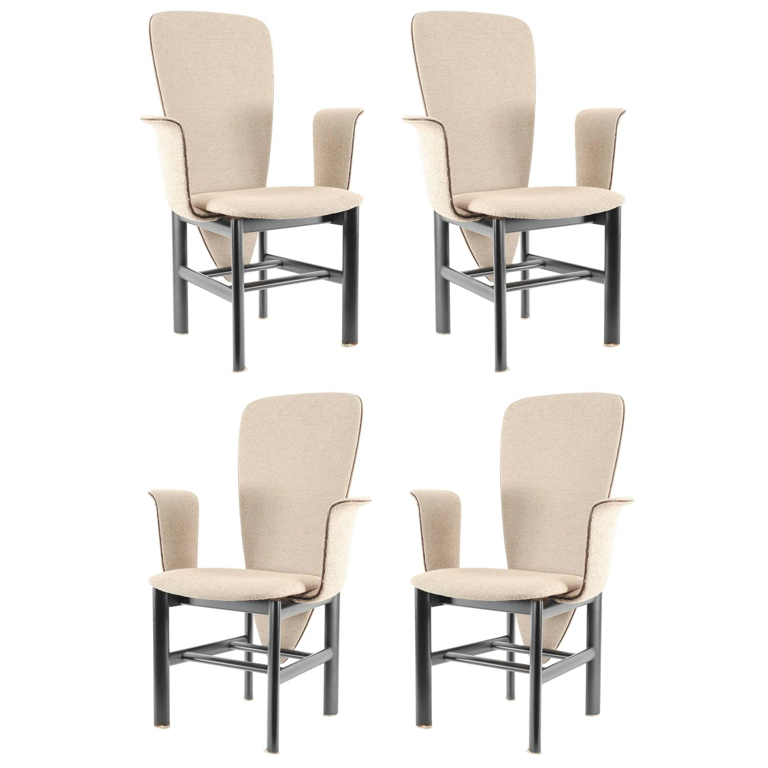 skovby rosewood dining chairs foldable toilet chair set of four at 1stdibs