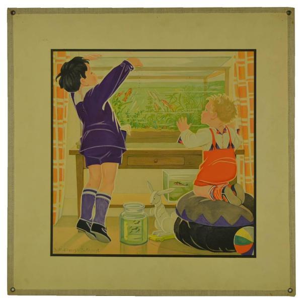 Vintage School Education Poster