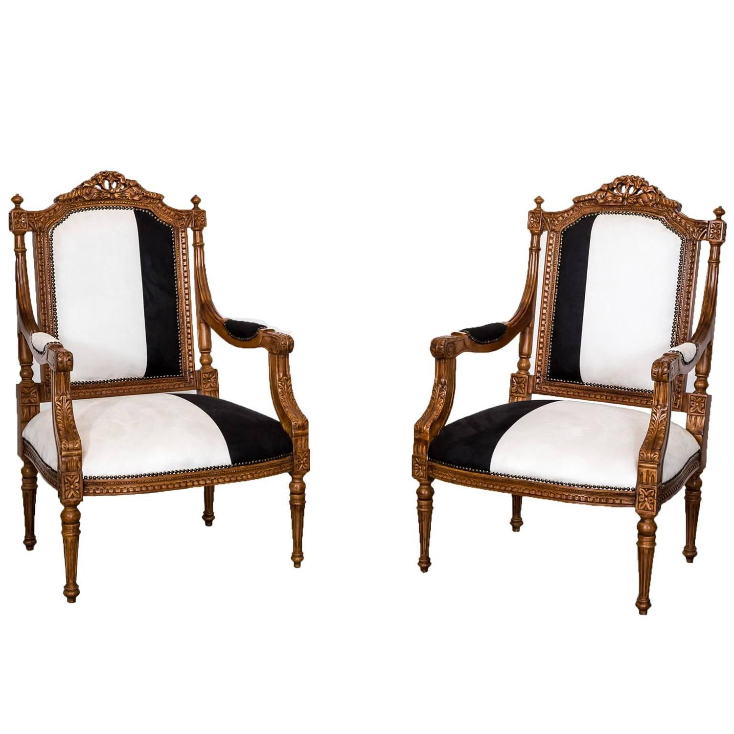 Colonial Chair Pair Of Antique Anglo Indian Or British Colonial Open