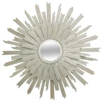 Silver Gilt Sunburst Mirror at 1stdibs