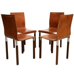 Industrial Dining Chair Rosewood Chairs Singapore Set Of Four Leather Emile Modern