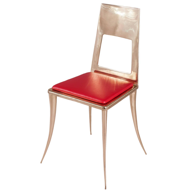 king furniture dining chairs teak uk bronze klismos chair by nick for sale at 1stdibs